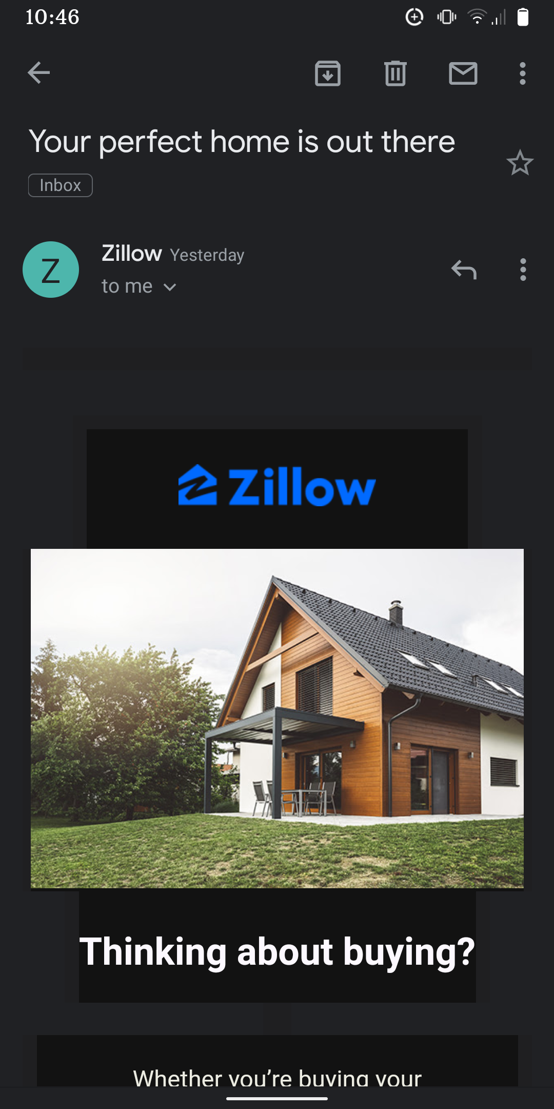 Zillow-Real Estate Marketing Tool Example